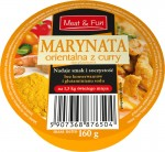 Marynata orientalna z curry 160g do grillowania
